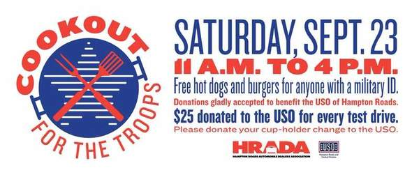 Cookout For The Troops Uso Of Hampton Roads And Central